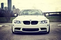 Picture BMW, White, BMW, Lights, White, E92, Strasse Wheels, Angel eyes
