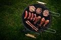 Picture grass, sausage, chicken, meat, BBQ, steak, grill
