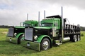 Picture truck, Peterbilt, the front, Peterbilt, tractor, chrome