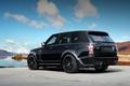 Picture Land Rover, Range Rover, Sky, Black, Tuning, Back, Lumma Design