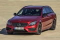 Picture Mercedes-Benz, Red, AMG, 4Matic, C450