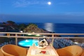 Picture stay, terrace, the hotel, sea, the evening, view, relax, horizon, balcony