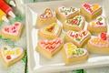 Picture labels, patterns, cookies, color, dessert, sweet, dish, glaze