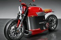 Picture concept, wallpaper, red, beautiful, motorcycle, Tesla, speed, fast, powerful, strong, technology, bold lines, beauty on ...