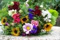 Picture flowers, Bouquet, spring, color