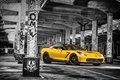 Picture 2015, Car, Muscle, Yellow, Stingray, HPE700, Ruffer, Front, Corvette, Chevrolet