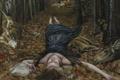 Picture picture, Norwegian artist, Christer Karlstad, Threnody