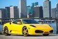 Picture ferrari, f430, yellow