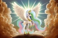Picture My Little Pony, Princess, pony, wings, Celestia