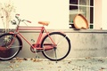 Picture vintage, bike, heart, love, heart, romantic