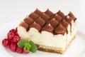 Picture cake, currants, cake, cakes, dessert, cream, chocolate