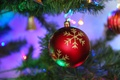 Picture balls, holiday, Merry Christmas, decoration, New Year, tree, New year, Christmas