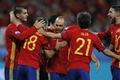 Picture Team, football, Spain, National team, Iniesta, football, players, Euro 2016, Jordi Alba, Sergio Ramos, Fabregas, ...