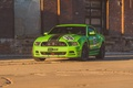 Picture boss 302, ford, mustang, green