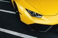 Picture Lamborghini, LP610-4, Supercar, Front, Yellow, Huracan, Wheels