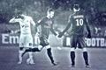 Picture wallpaper, players, Zlatan Ibrahimovic, Paris Saint-Germain, sport, football, David Beckham