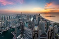 Picture the sky, the city, home, Dubai, UAE, Dubai Marina
