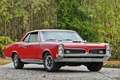 Picture retro, red, muscle car, TRP, coupe, 1967, retro, coupe, classic, hardtop, gto, Pontiac, classic, red, ...