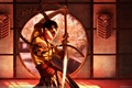 Picture sword, Steve Argyle, girl