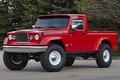Picture jeep, j-12, red, concept, trees, pickup, the concept, jeep, SUV