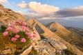 Picture landscape, landscape, nature, the sky, Pirin, mountains, nature, clouds, clouds, sky, rocks, Pirin, Bulgaria, Bulgaria, ...