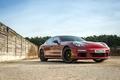 Picture wall, the fence, Porsche, Panamera, E-Hybrid