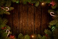 Picture balls, tree, branches, Christmas decorations, Board