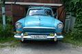 Picture summer, garage, Volga