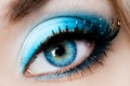 Picture makeup, macro, the pupil, girl, eyes, eyelashes, shadows