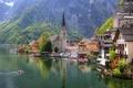 Picture lake, Austria, Austria, Church, home, the city