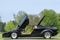 Picture the hood, countach, Countach, side view, trees, lamborghini, door