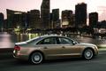 Picture Audi, The evening, Auto, The city, Sedan, Riding