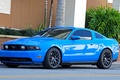 Picture mustang, blue, Ford