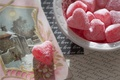 Picture background, heart, candy