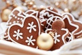 Picture cookies, Christmas balls, Christmas, new year, holiday