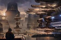 Picture Star Citizen, Star citizen, the planetary system, the city, building, space, space, ships, game wallpapers, ...