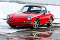 Picture winter, Targa, Targa, 1969, Porsche, 911, Porsche, classic