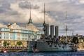 Picture river, the building, Saint Petersburg, Aurora, Museum, promenade, cruiser, Petrogradskaya embankment, Nakhimov naval school, Bolshaya ...