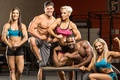 Picture poses, bodybuilders, group, fitness, muscles, get stronger