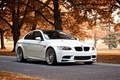 Picture autumn, trees, bmw m3