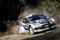 Picture Car, Turn, The front, Fiesta, Wheel, Skid, WRC, Rally, Sport, Ford