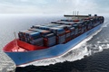 Picture Water, Sea, Board, Case, The ship, Graphics, A container ship, Tank, On the go, Cargo, ...