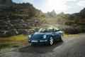 Picture Carerra, Convertible, Carrera, road, Cabriolet, 1994, 3.6, Porsche, 911, the sky, Porsche, stones