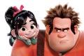 Picture eyes, look, mood, girl, guy, art, Cartoon, Ralph, Wreck-it Relph