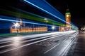 Picture big Ben, England, London, the city, excerpt, lights, street, night