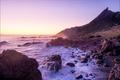 Picture sunset, Wellington, the ocean, Cape Palliser, New Zealand, wave, New Zealand
