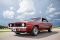 Picture Camaro, red, 1969, Chevrolet