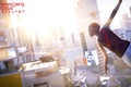 Picture the game, view, girl, the sun, Mirror's Edge: Catalyst, the city