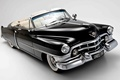 Picture background, Sixty-Two, Sixty-One, Cadillac, Cadillac, 1950, black, convertible, Convertible, classic