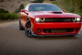 Picture Dodge, Blakc, Red, Wheels, Hellcat, Challenger